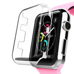 (3-Pack) Clear Screen Protector Case - Apple Watch 38mm Series 3 / 2